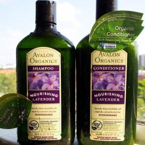 Avalon organics shampoo and conditioner review