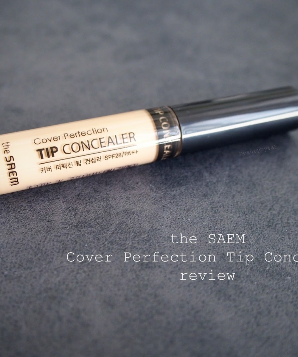 The Saem Cover Perfection Tip Concealer Review and Swatch