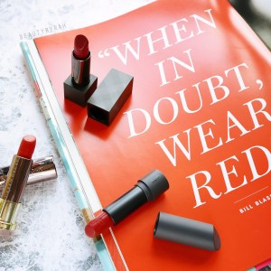 Top 3 recommended red lipsticks