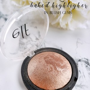 Elf Baked Highlighter in Blush Gems Review and Swatches