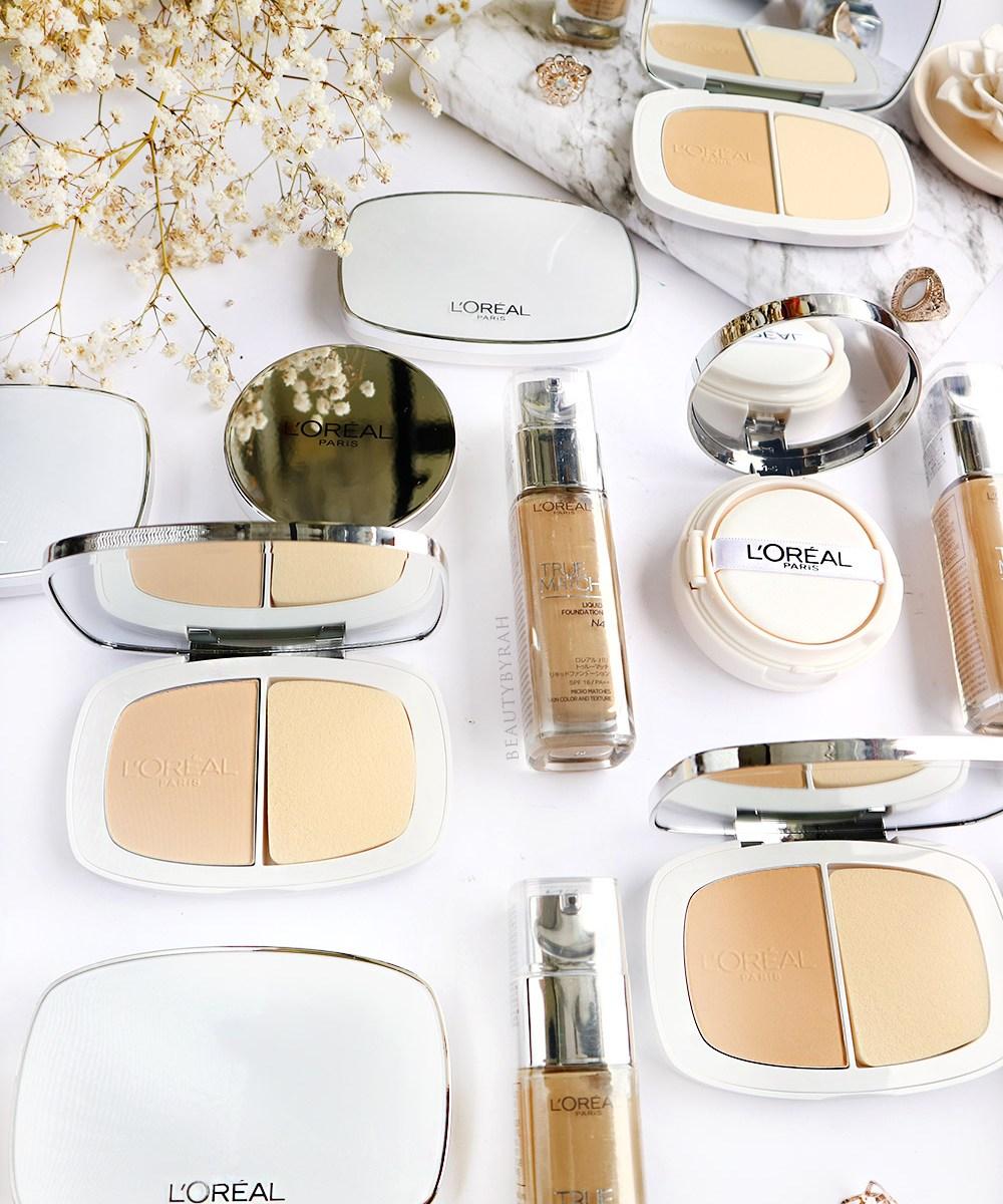 Review // L'Oreal Paris True Match Powder Foundation - Beautybyrah