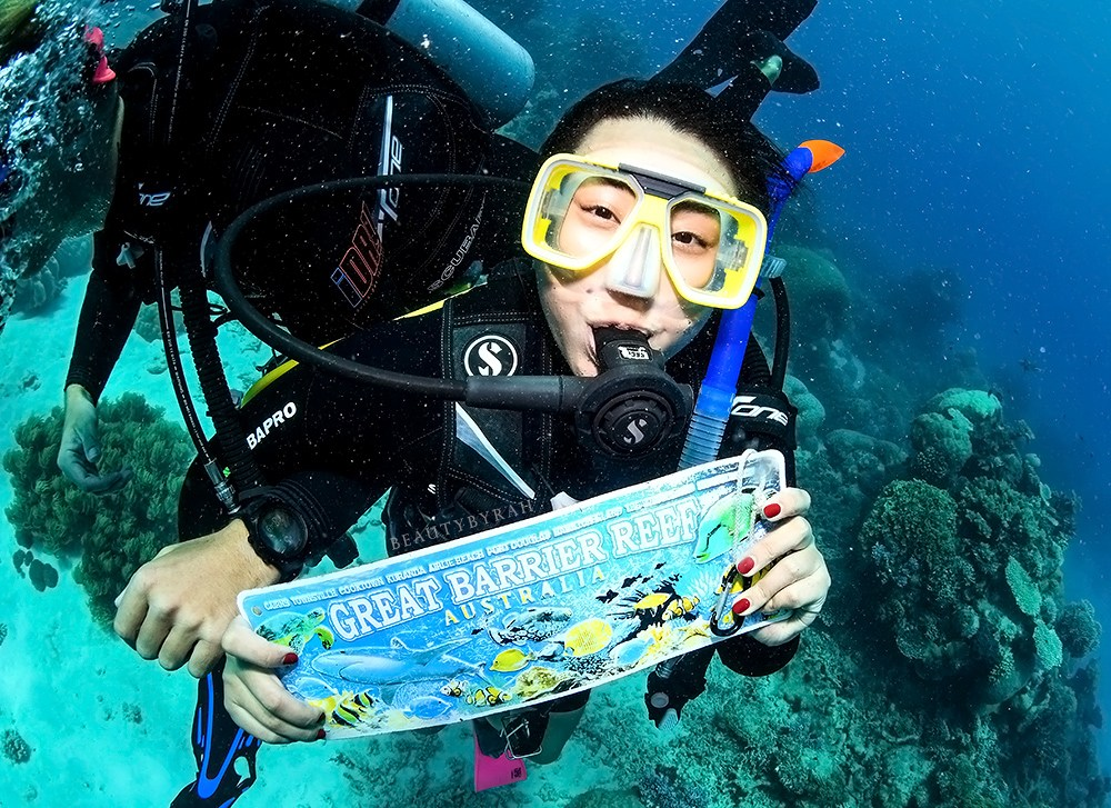 Female Solo Travel Guide to Great Barrier Reef Cairns
