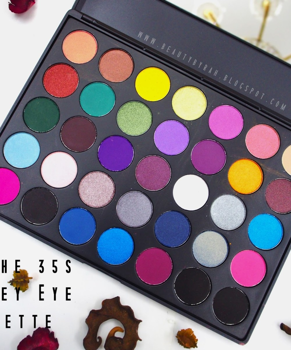Morphe Brushes 35S Smokey Eye Palette Review