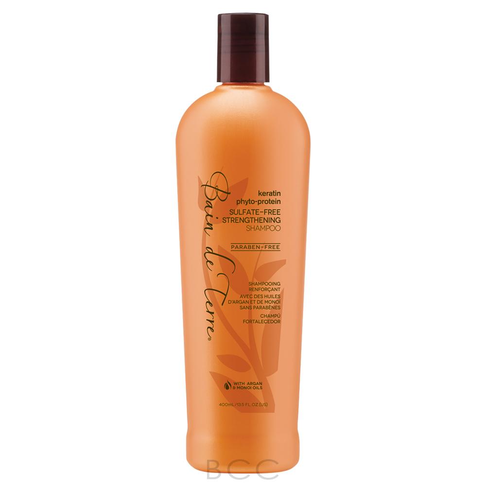 bain de terre keratin phyto protein sulfate free strengthening shampoo beauty care choices