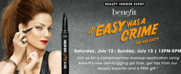 sephora- benefit- event