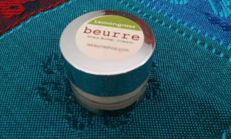 beurre lemongrass shea butter