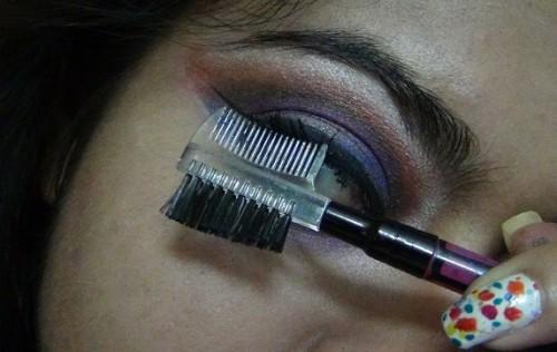 eyelash comb for clump free mascara