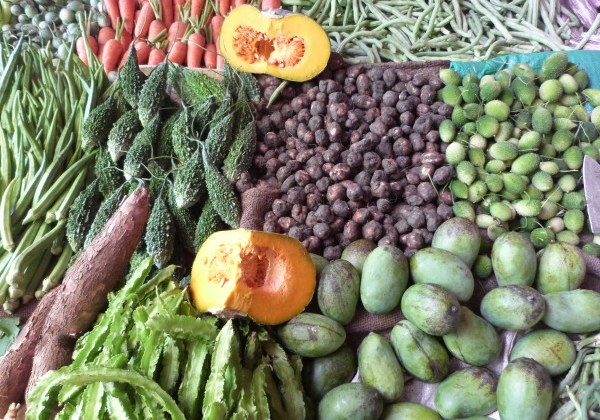 Beautiful fresh vegies