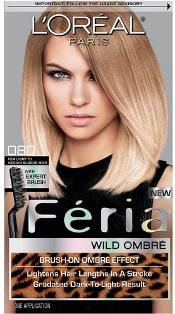 dark blonde hair dye & temporary