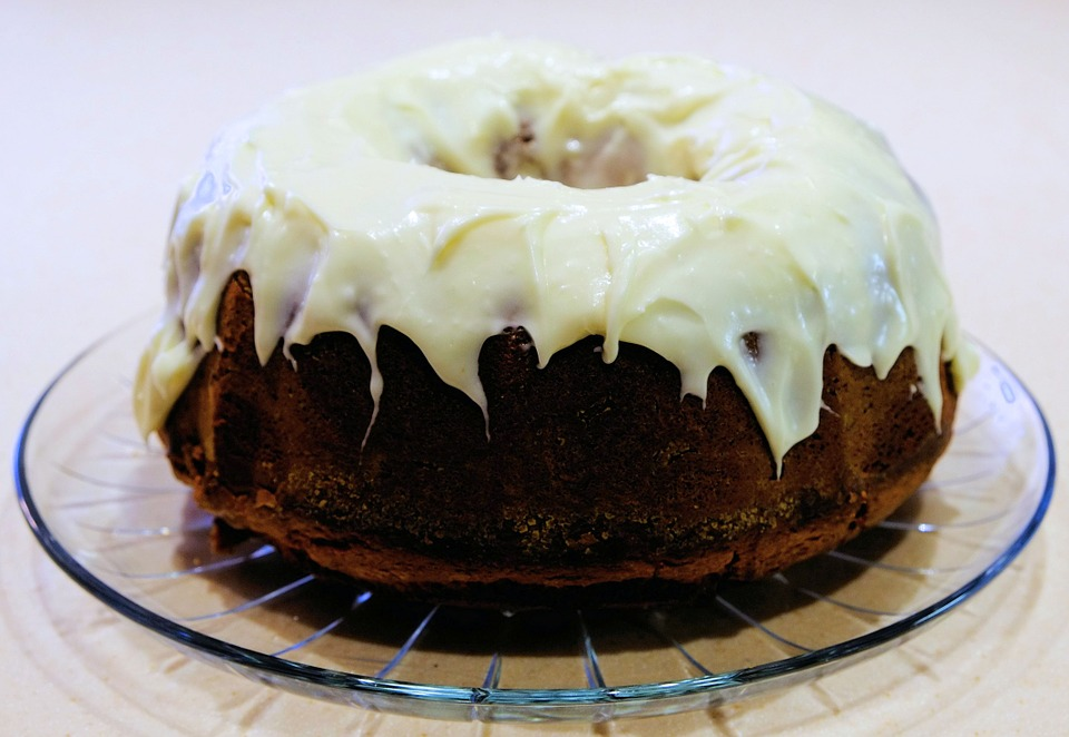 Pumpkin Bundt Cake Pixbay Image Showing Applesauce Surprise Cake