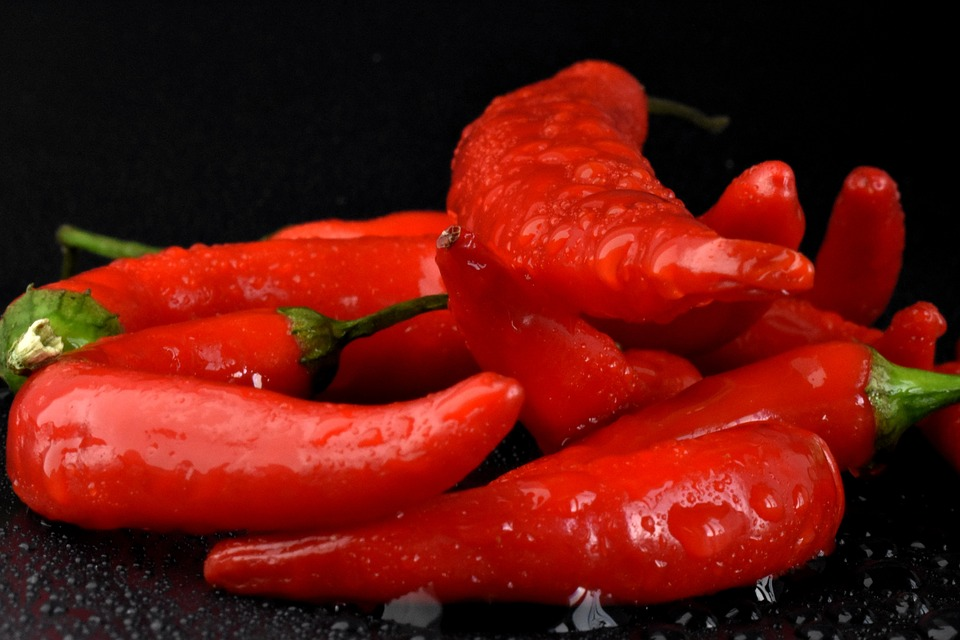 Cayenne Peppers Pixibay Image Showing How They Boost the Body's Metabolism
