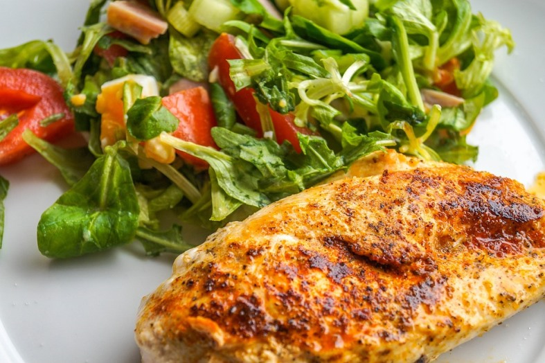easy nutty baked chicken breast