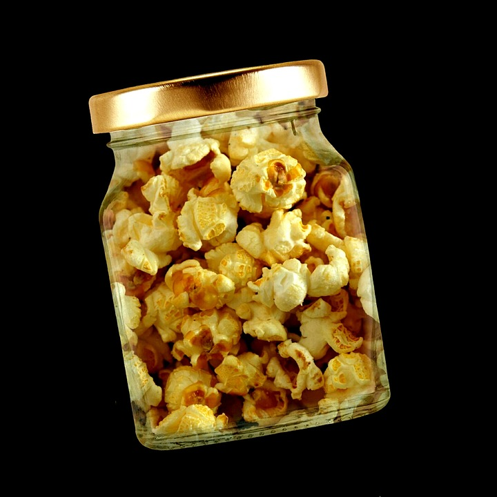popcorn for homemade Cracker Jacks