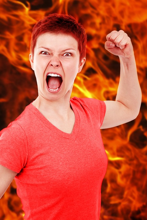 why is the world so full of anger and hatred angry woman