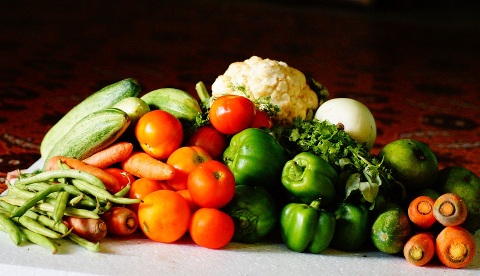 Vegetable Assortment for Dieting Pixibay Image
