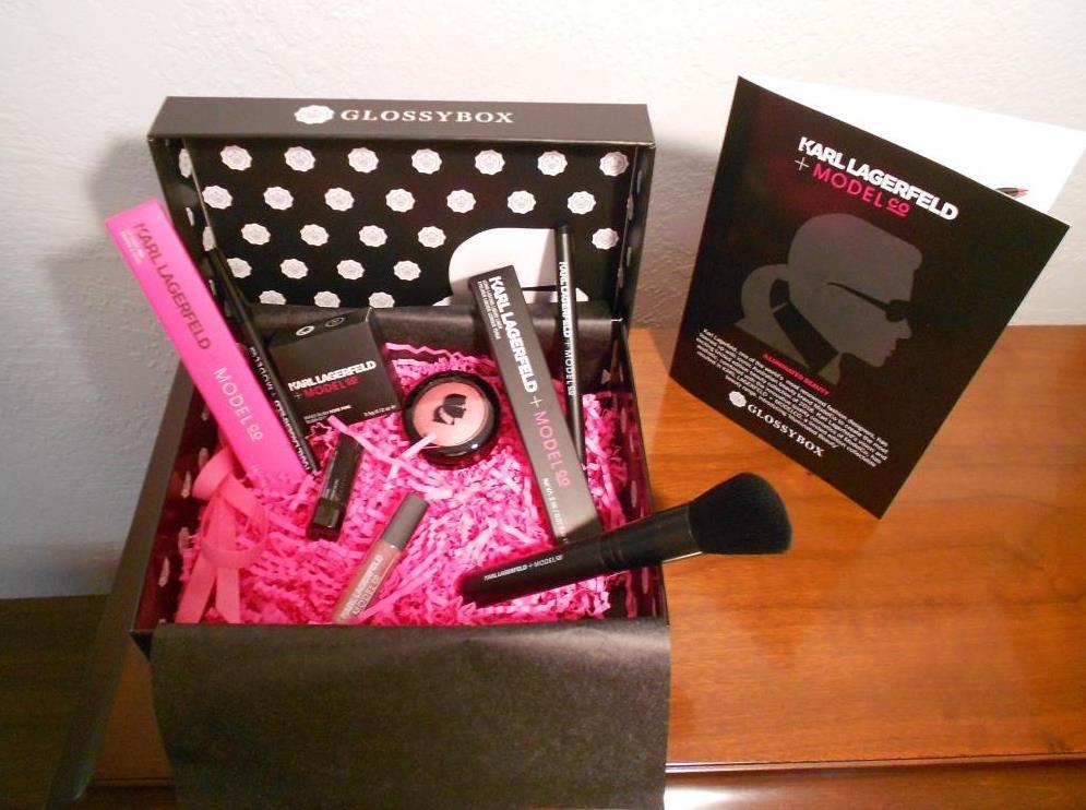 Karl Lagerfeld Glossybox Giveaway