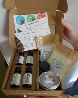 Simply Earth Essential Oils Recipe Box small