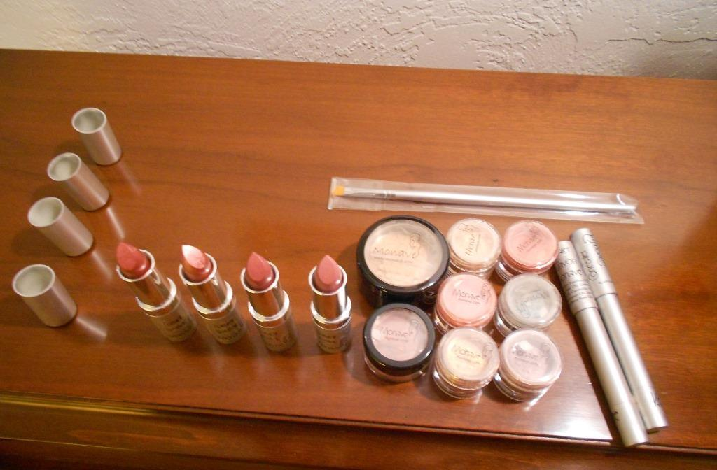 Monave Mineral Makeup Holiday Glam Products