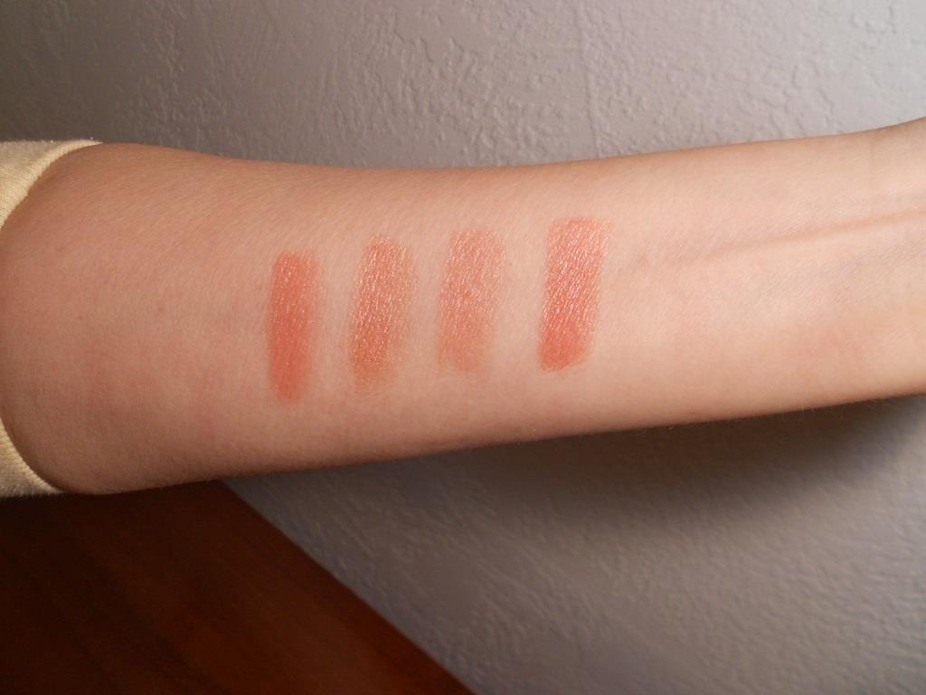 Monave Mineral Makeup Holiday Glam Lipstick Swatches