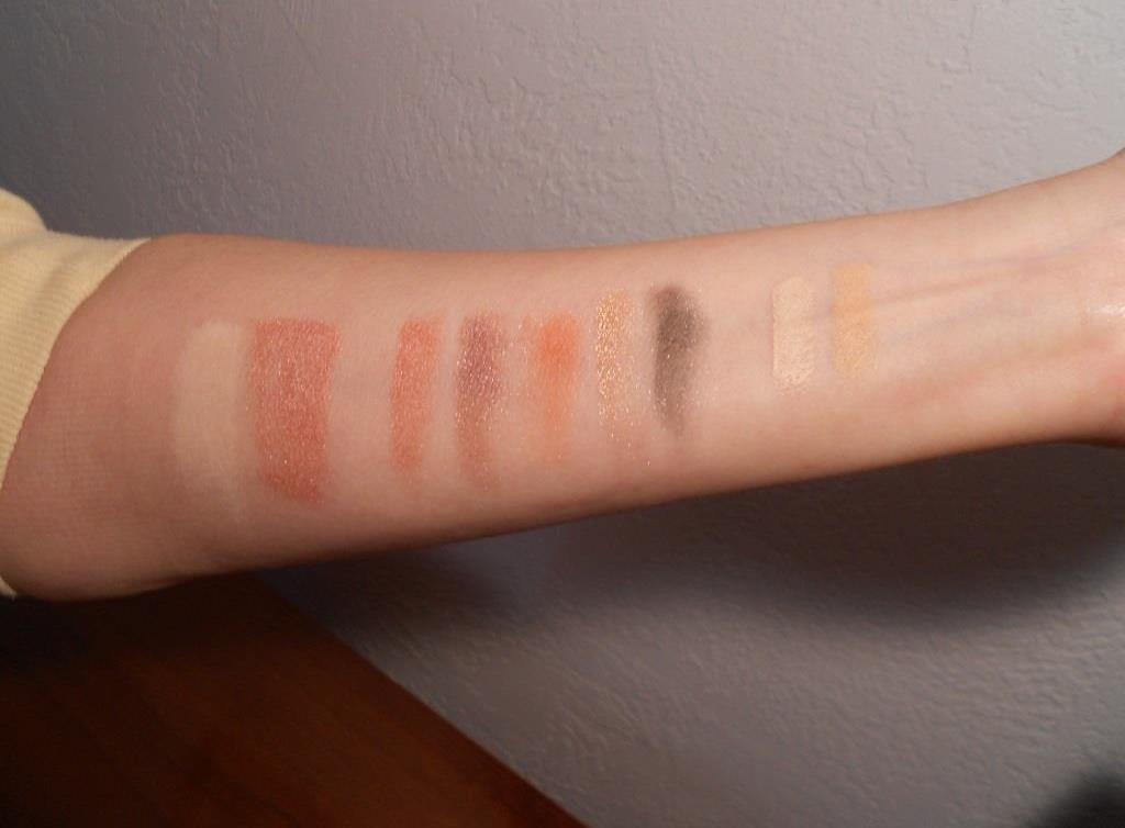 Monave Mineral Makeup Eye and Face Swatches