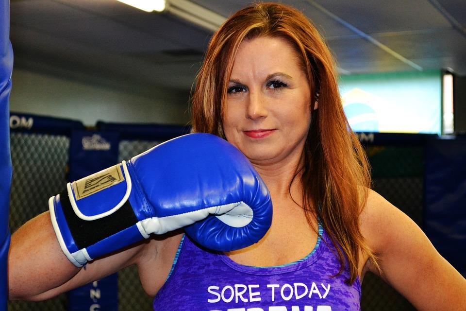 Boxing Woman Workout