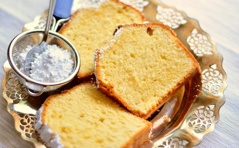 Cake for Freezing Baked Goods