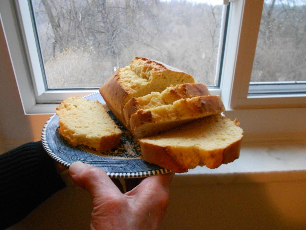 Orange Quick Bread Recipe Sliced