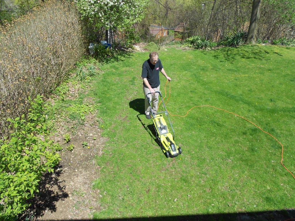 RYOBI Electric Lawn Mover