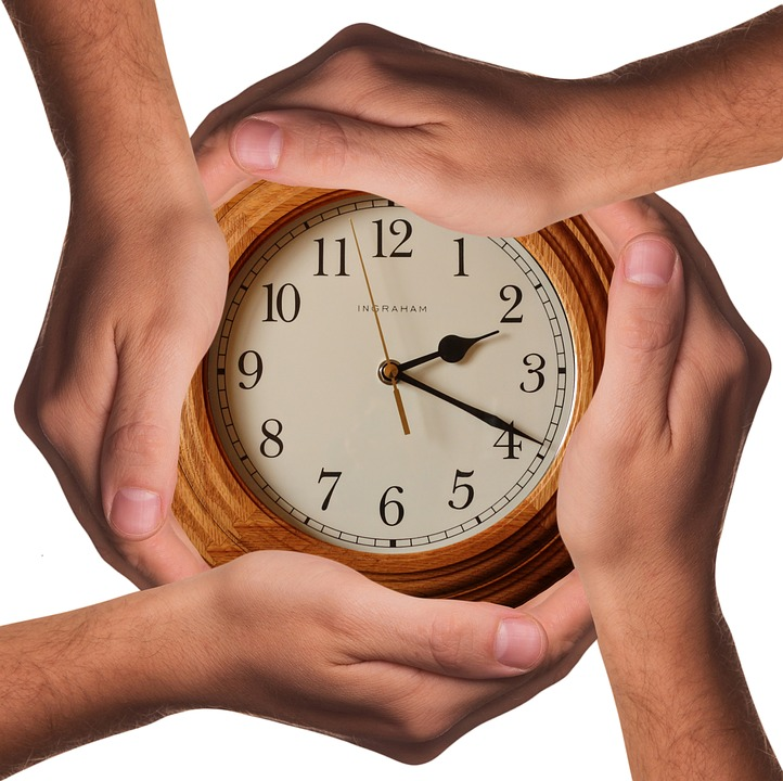 Time Saving Clock and Hands