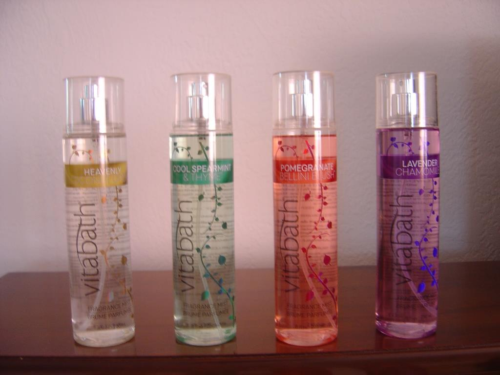 Vitabath Fragrance Mists