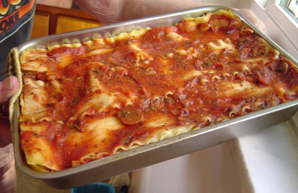 Black Bean-Cheese Lasagna