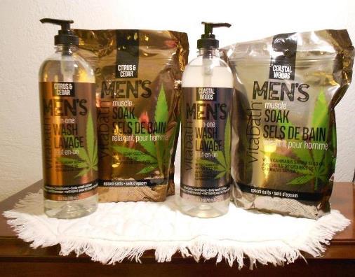 Vitabath Men's Bath Products