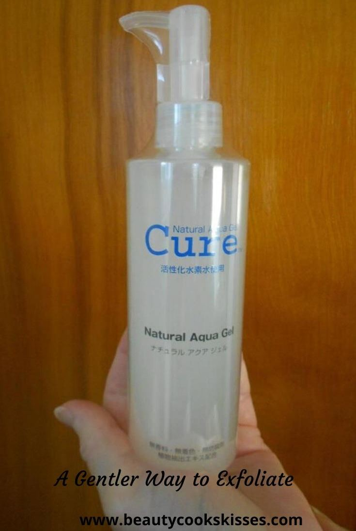 Cure Natural Aqua Gel A Gentler Way to Exfoliate