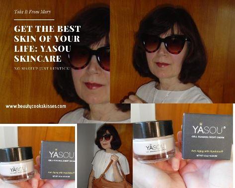 Yasou skincare collage