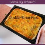 Cheddar-Kraut Pizza