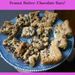 Easy and Delectable Peanut Butter-Chocolate Bars!