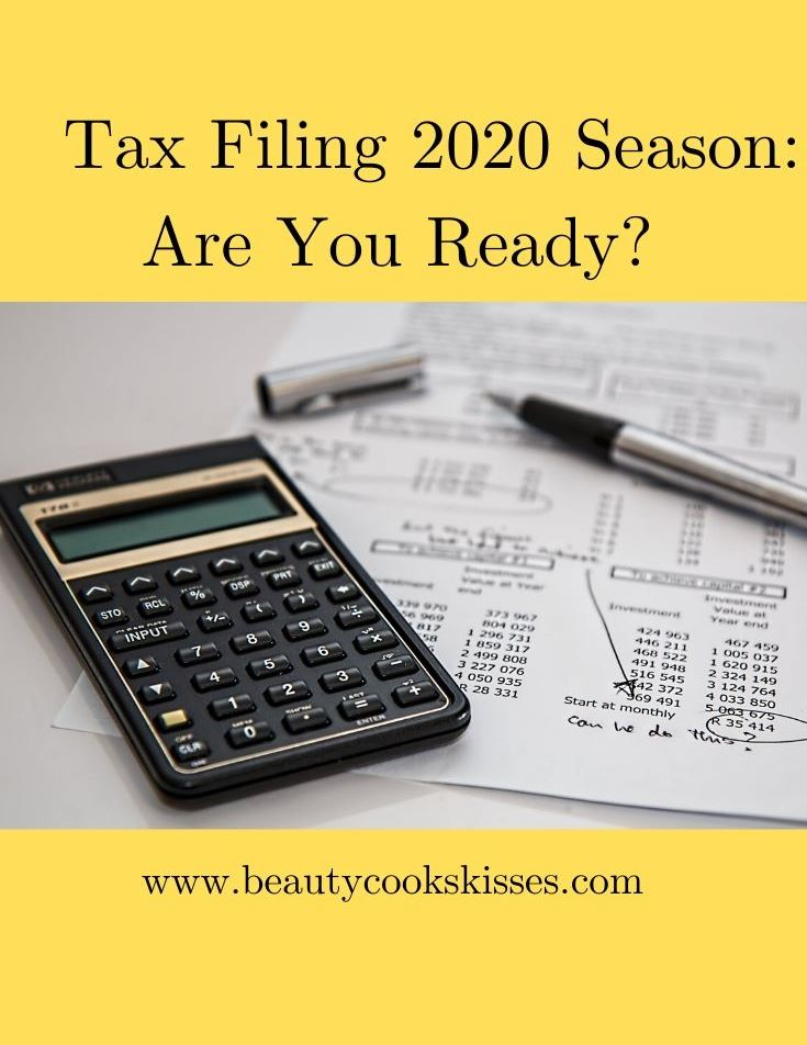 Tax Filing 2020 Season Is About to Begin Calculating Taxes