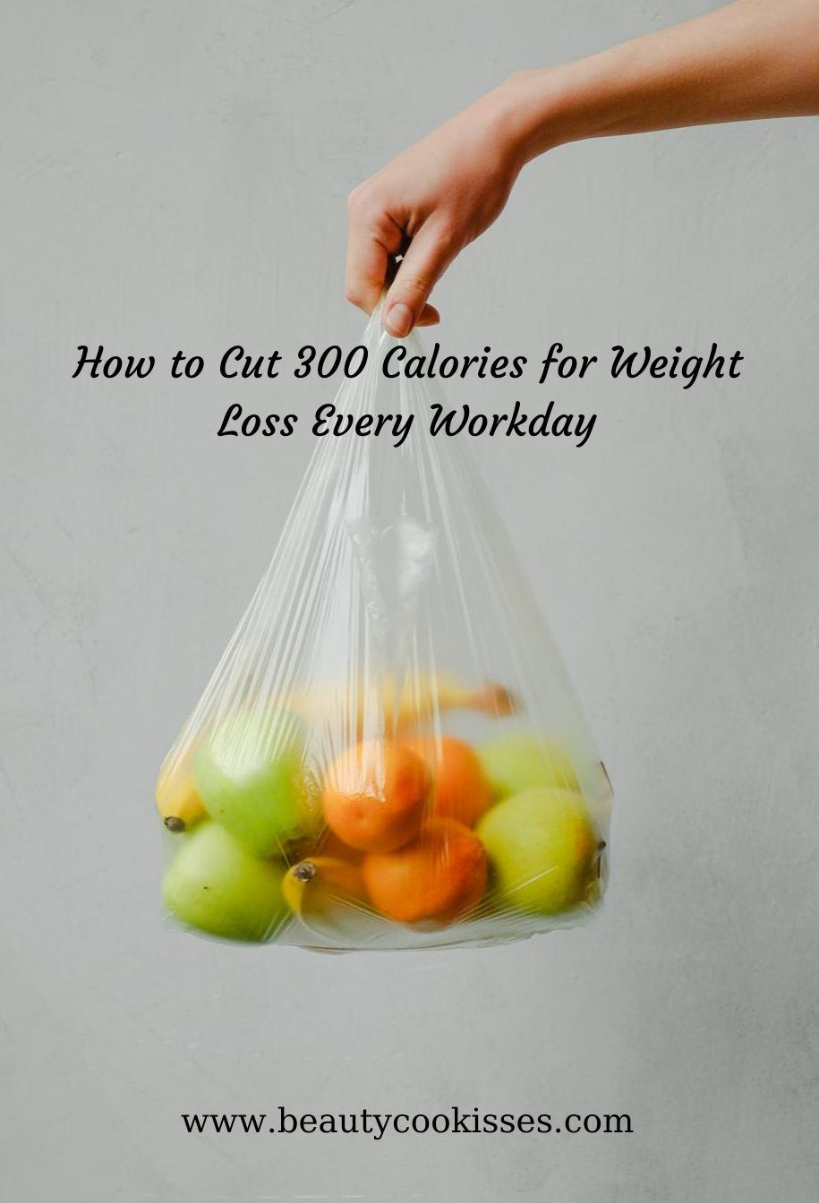 Fruit bag--how to cut 300 calories