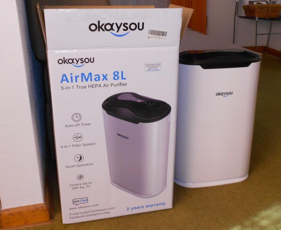 Okaysou AirMax8L Box and Unit