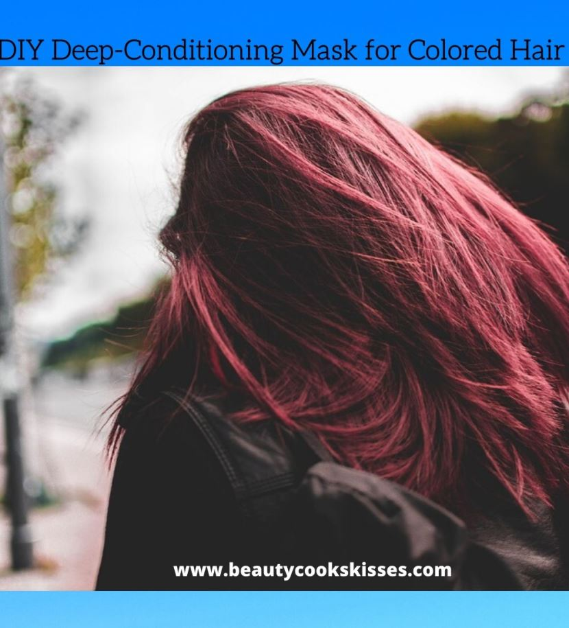DIY Deep-Conditioning for Colored Hair
