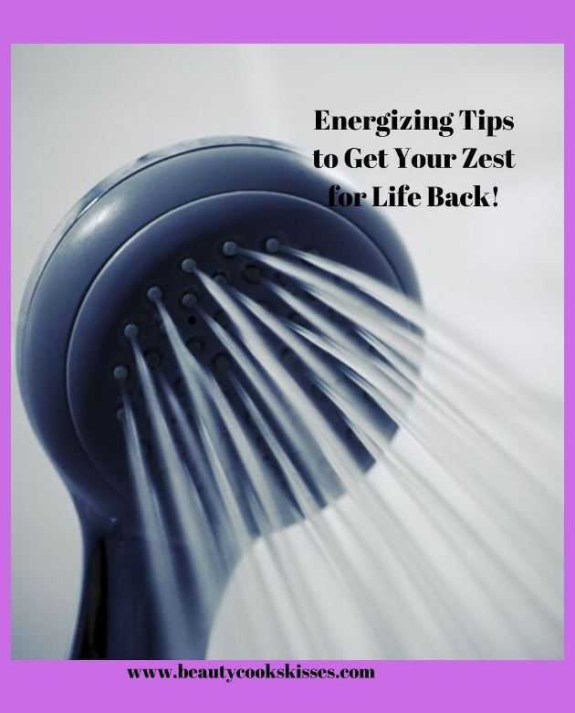 ShowerEnergizing Tips to Get Your Zest for Life Back