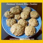 Oatmeal Lemon Drop Cookies