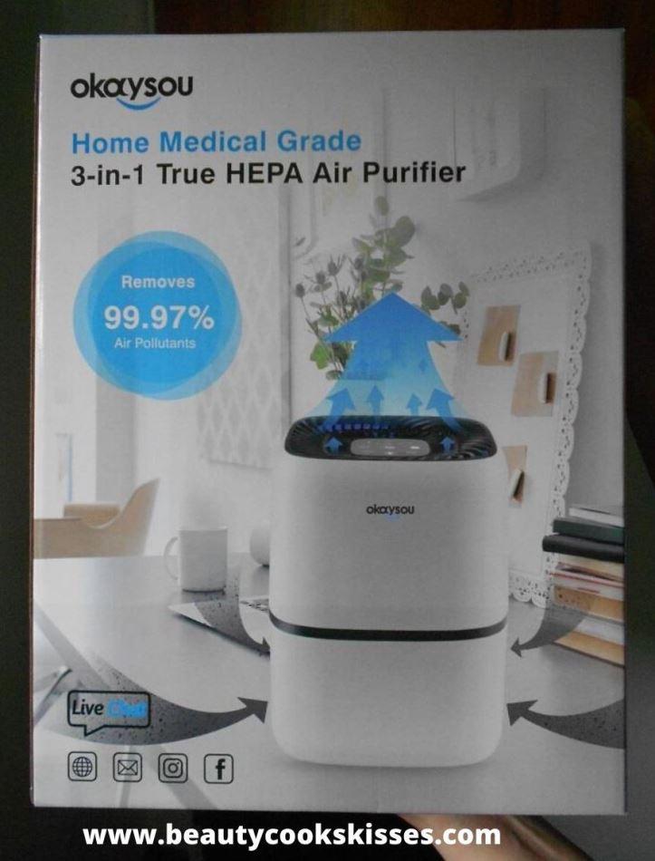 HEPA Air Purifier Box