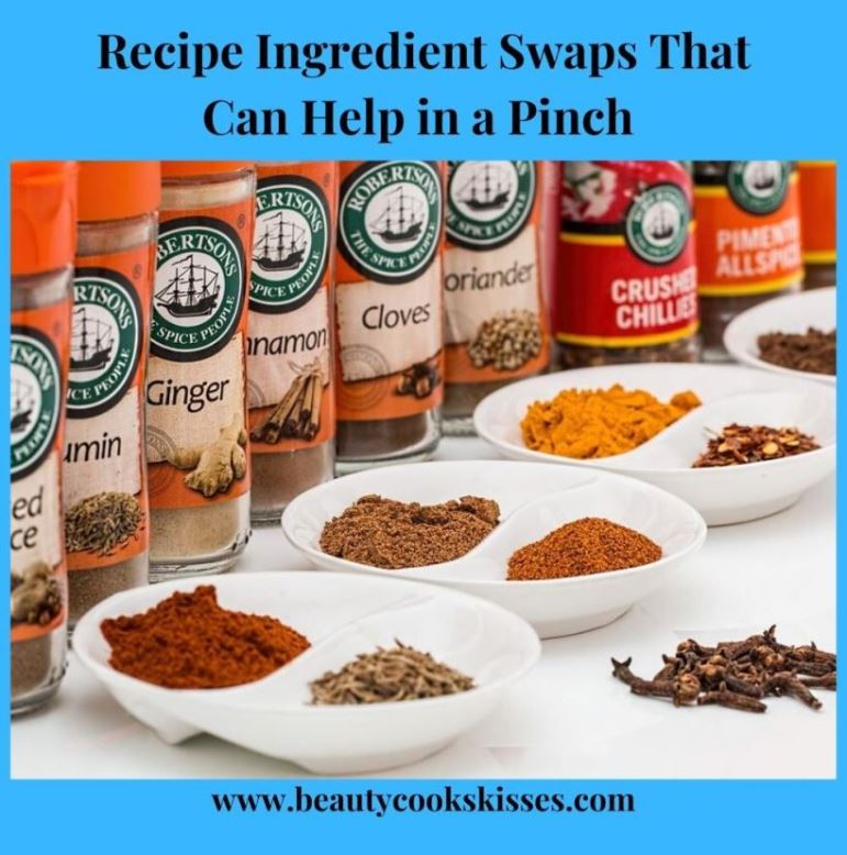 Recipe Ingredient Swaps That Can Help in a Pinch