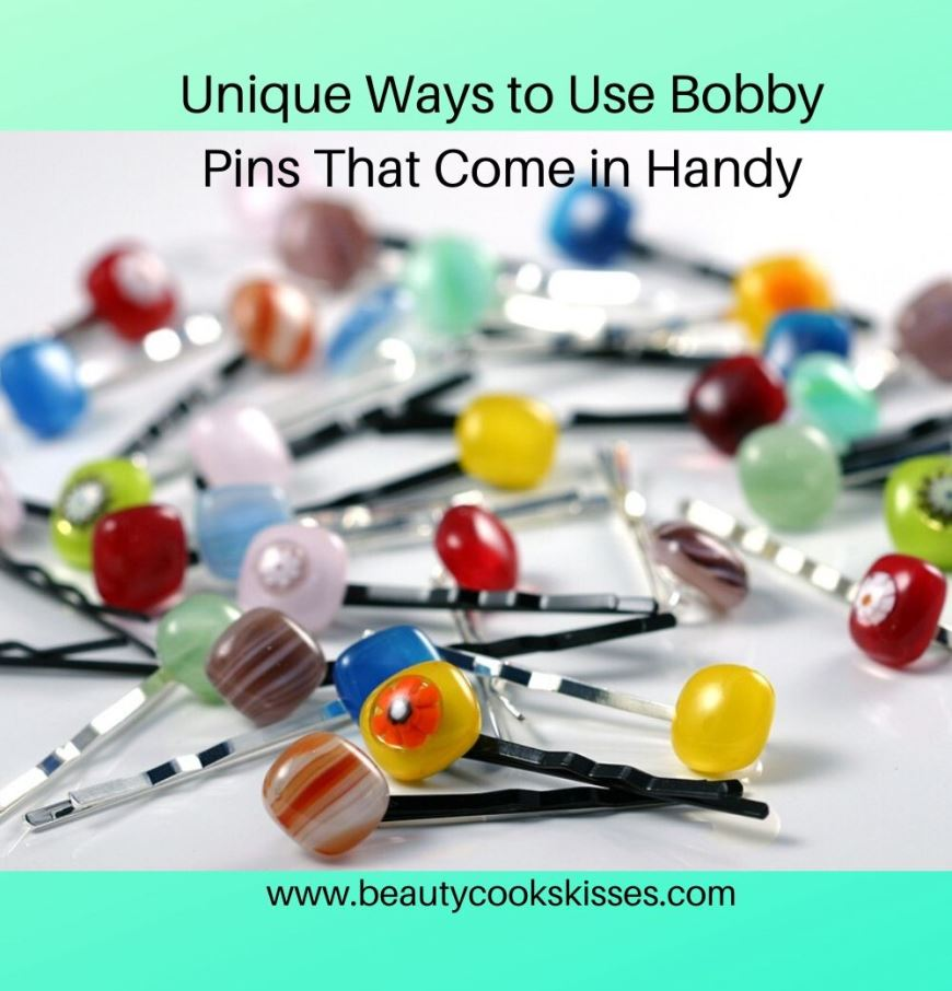 Unique Ways to Use Bobby Pins That Are Handy