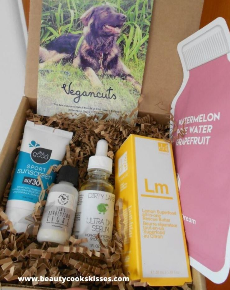 Vegancuts Beauty Box June 2020