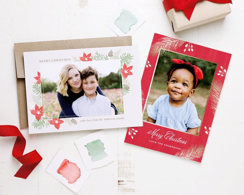 Basic-Invite Holiday Cards