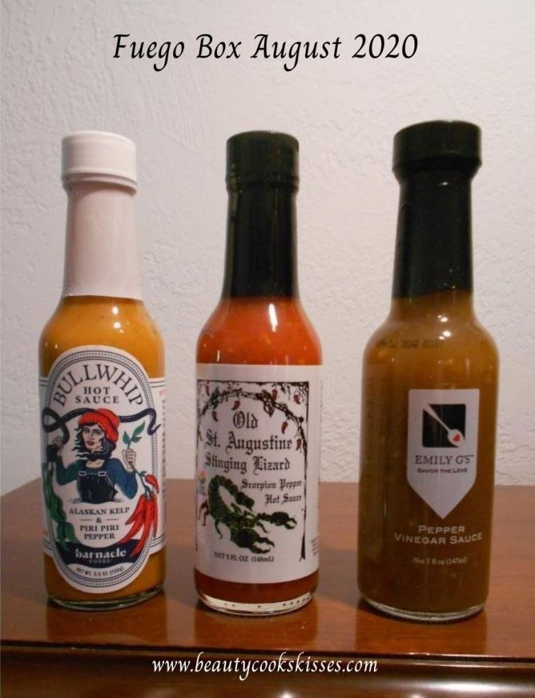 hot sauce box to try--fuego august 2020