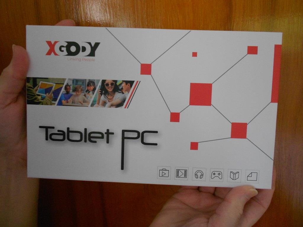 Xgody t702 kids tablet box