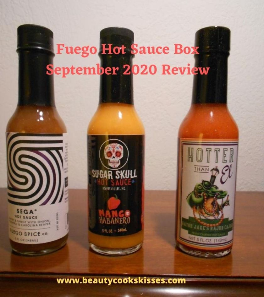 Fuego Box Hot Sauce Subscription September 2020